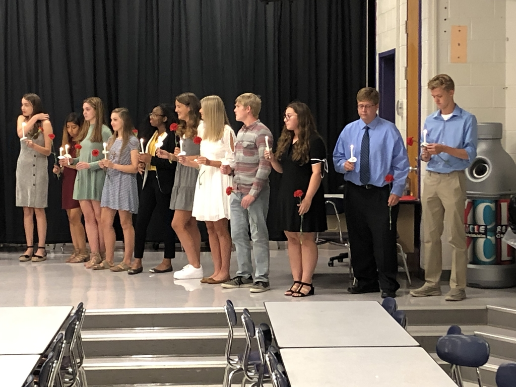 Spanish National Honors Society Inductees
