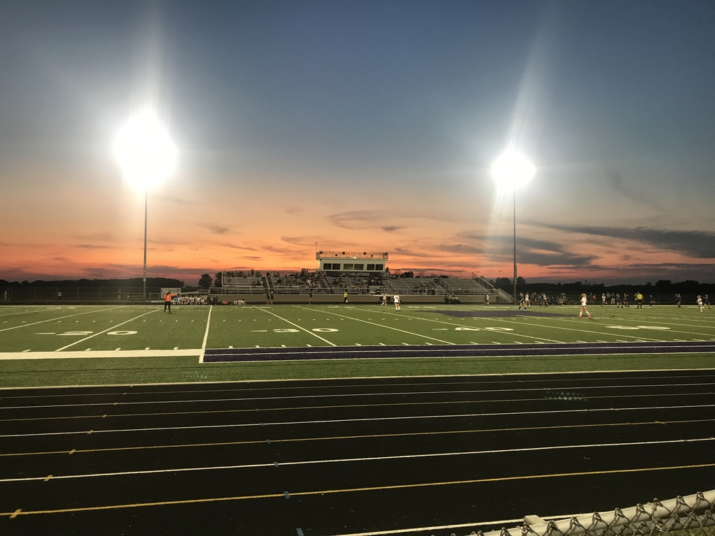 Northwestern vs. Western Girls Varsity Soccer. Beautiful night for Soccer