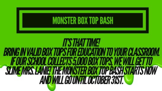 Box Top Bash!