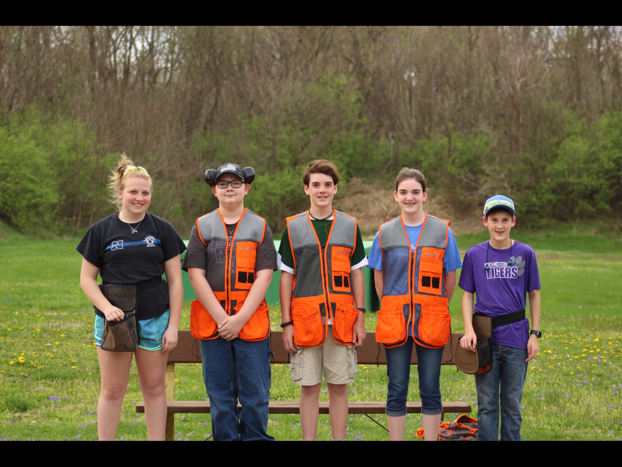 NMS Trap Shoot Team